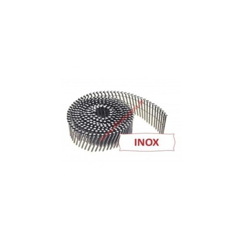 Clous inox 2.30x45 rouleaux boite de 6600