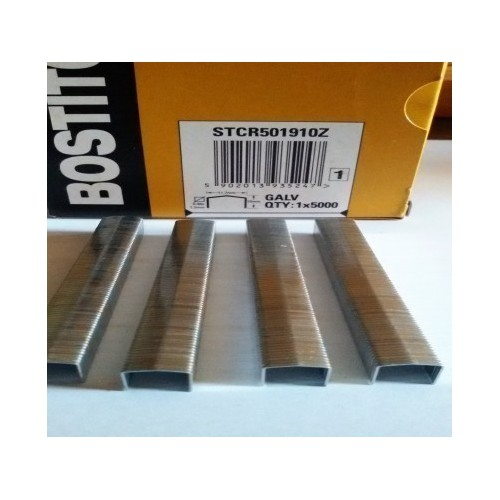 Agrafes STCR5019 10 mm boite de 5000