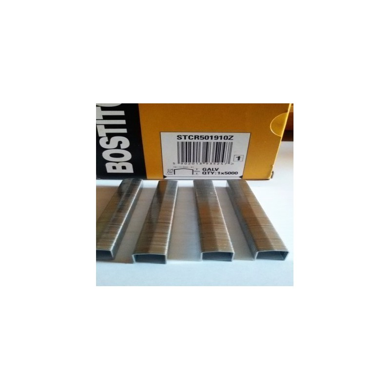 Agrafes STCR5019 12 mm boite de 5000