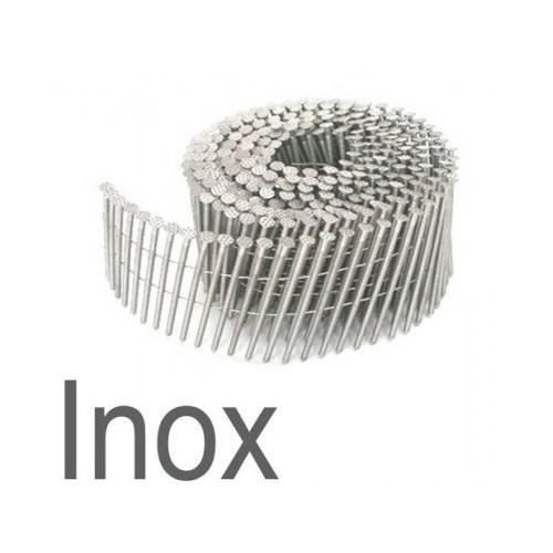 Clous rouleaux inox 2.30 x65