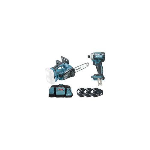 Ensemble de 2 machines 18 V 5 Ah 3 batteries
