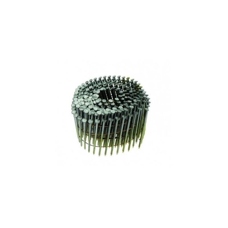 clous rouleaux plat 16° 2.80 x 70 annelés boite de 6000