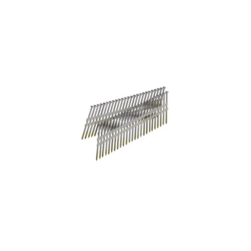 clous bande 21° 4.60 x 160 torsadés boite de 500