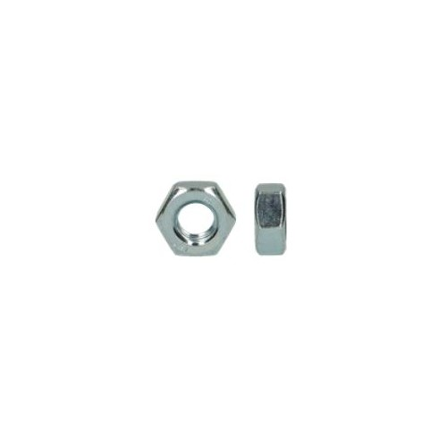 écrou hexagonal acier zingué diamètre 10 mm boite de 200