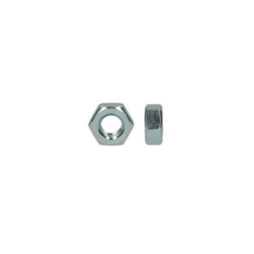 écrou hexagonal acier zingué diamètre 12 mm boite de 100