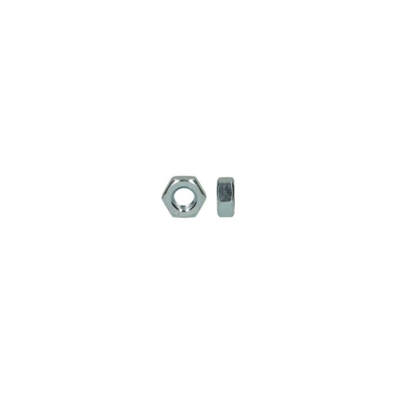 écrou hexagonal acier zingué diamètre 18 mm boite de 50