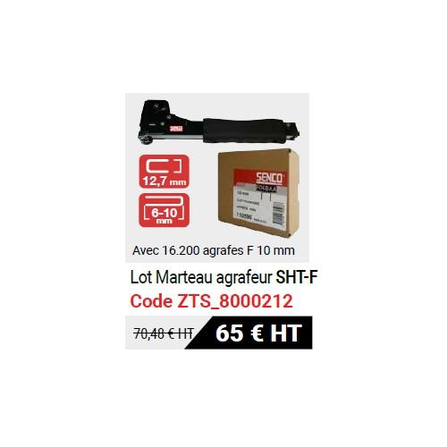 Marteau agrafeur Senco + agrafes F 10 mm