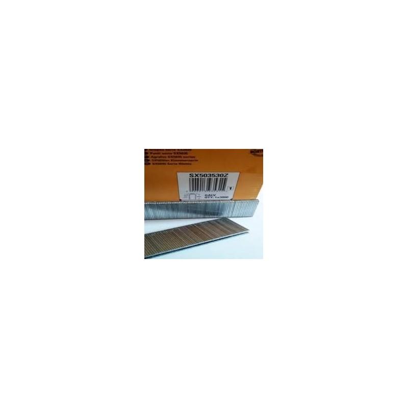agrafes sx5035 15 mm boite de 5000