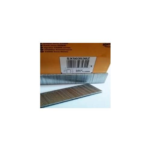 agrafes SX5035 12 mm boite de 5000