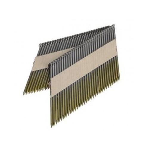 Clous D34° en bande 3.10x90 annelés galva boite de 3000